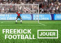 Free kick football: Jouer